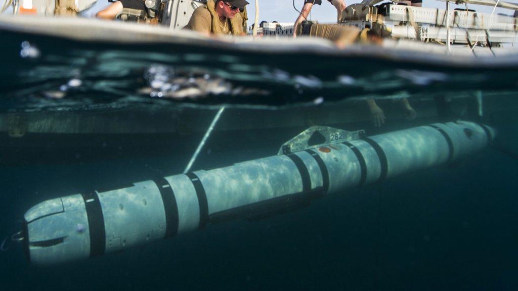 Een voorbeeld van een onderwaterdrone