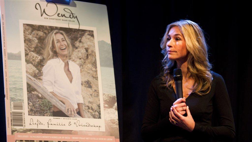 Presentatie Wendy Magazine eind 2014.