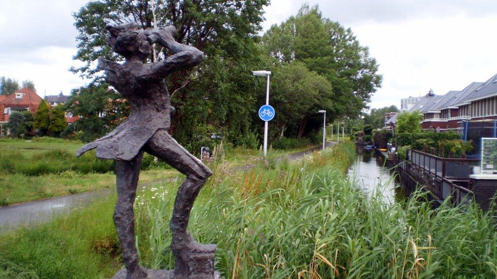 Ook dit beeld in Heemstede werd gestolen