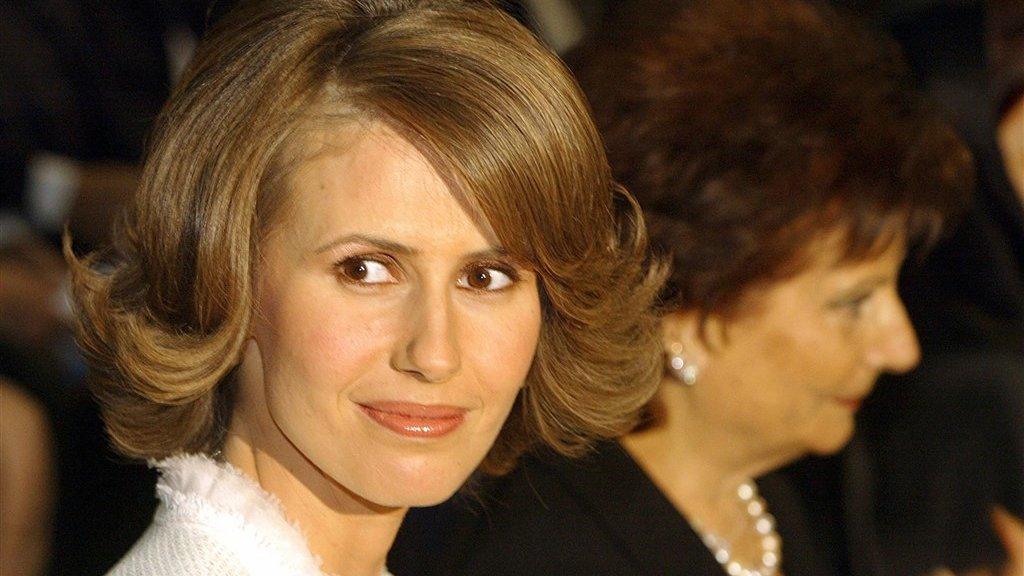Asma al-Assad werd in 2011 nog 'de roos van de woestijn' genoemd door de Amerikaanse Vogue.
