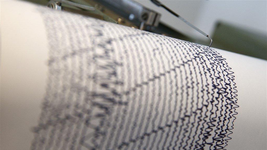 Trillingen van de aarde meet het KNMI met een seismograaf.