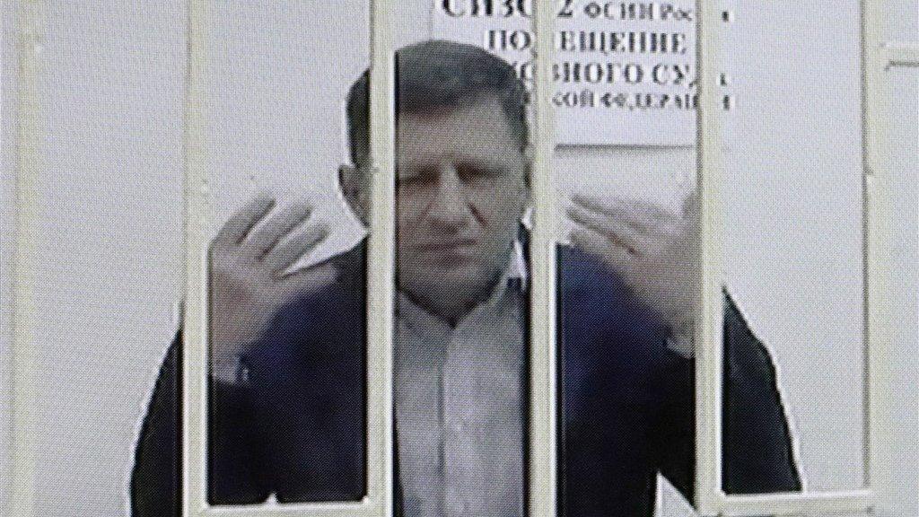 De populaire gouverneur Sergej Foergal zit in Moskou in de cel.