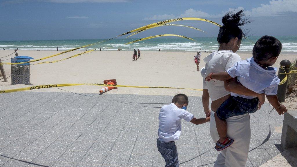 Coronabrandhaard Florida zet zich schrap voor komst orkaan Isaias