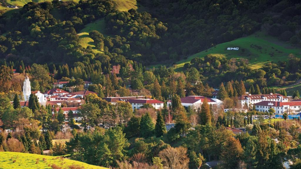De campus van Saint Mary's College in California
