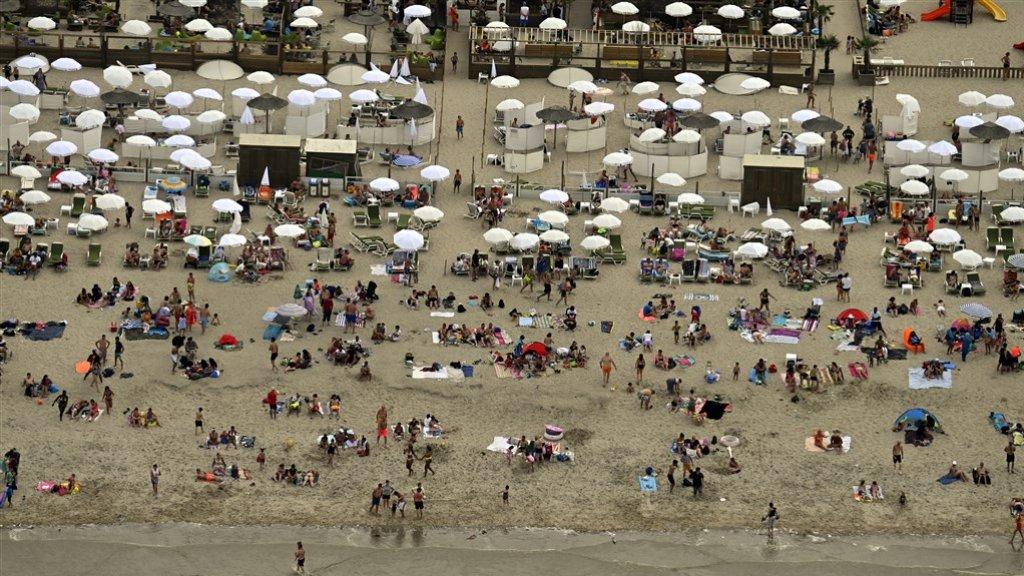 Belgische kustplaatsen weren dagjestoeristen