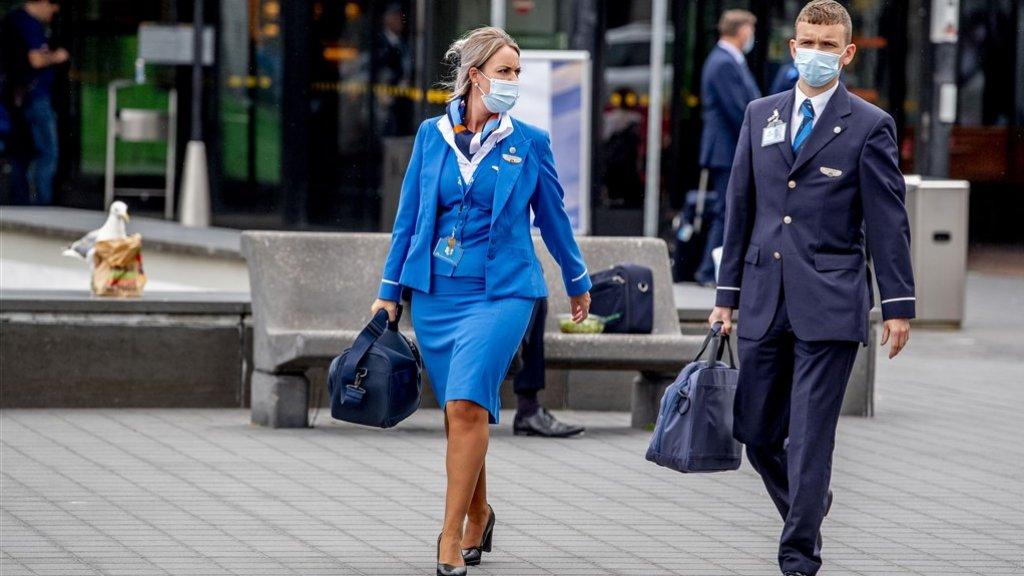 Het personeel van KLM krijgt er geen geld bij.
