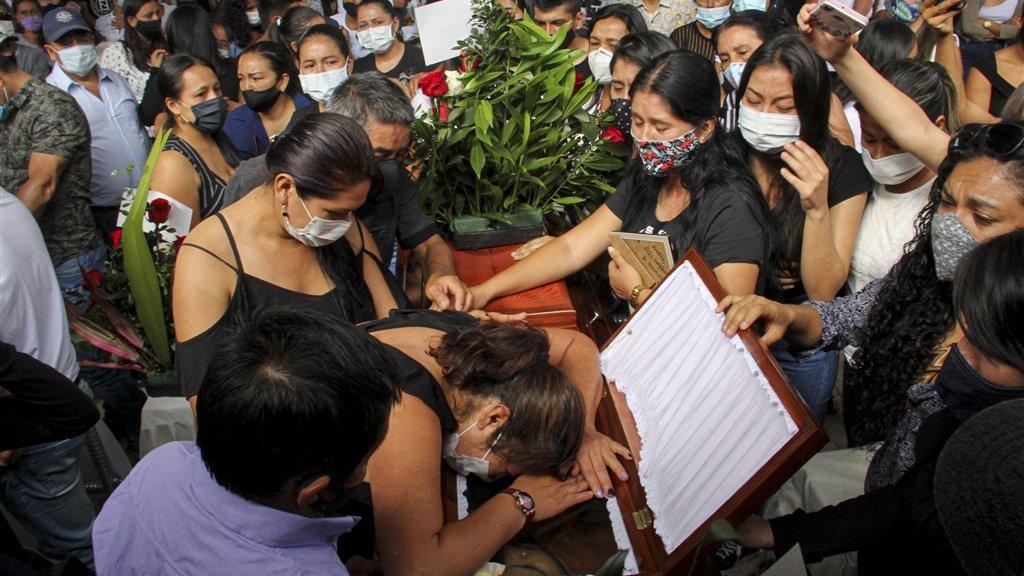 Deze week zijn de acht jongeren begraven