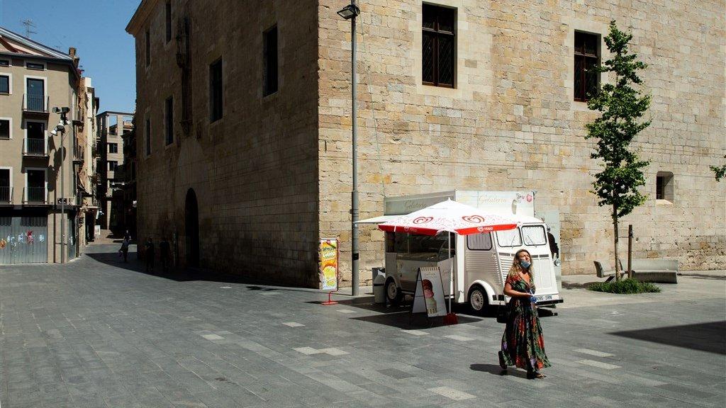 Na besmettingen bij fruitbedrijven, moest de regio Lleida opnieuw in Lockdown