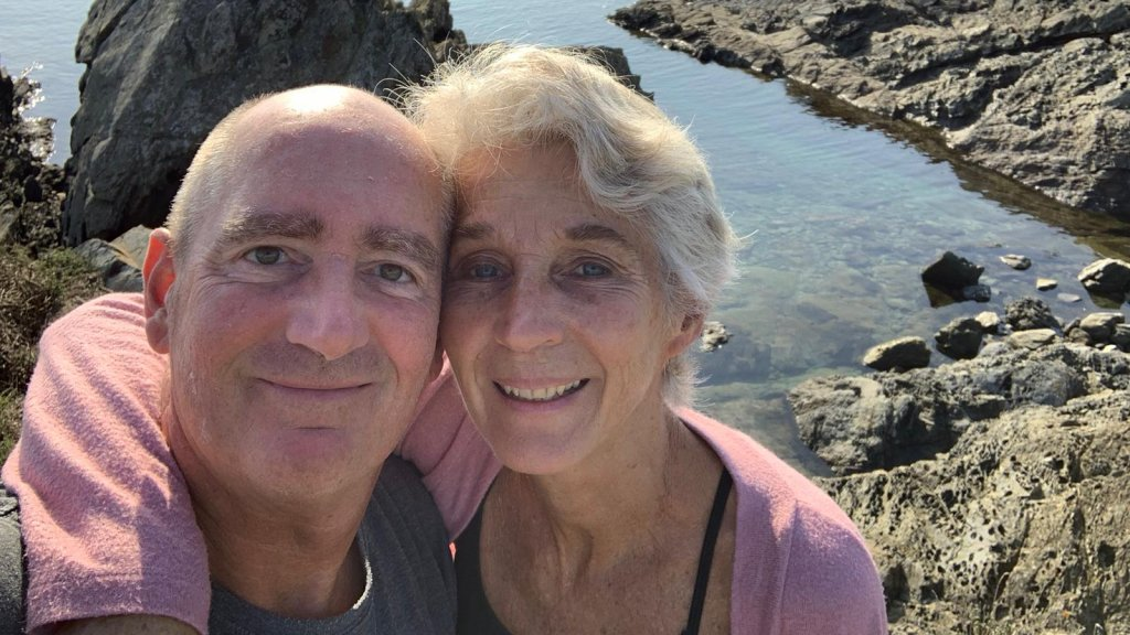 Geert en zijn partner Jacqueline