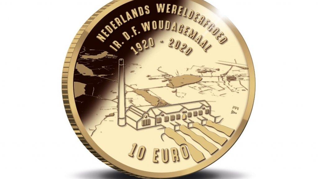 De voorzijde van de munt.