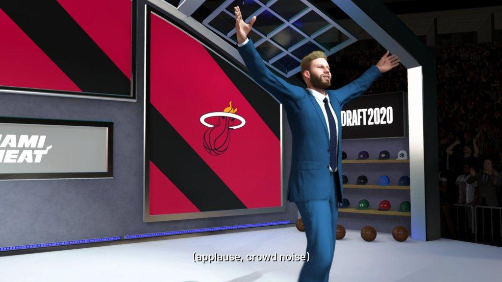 Gekozen door de Miami Heat