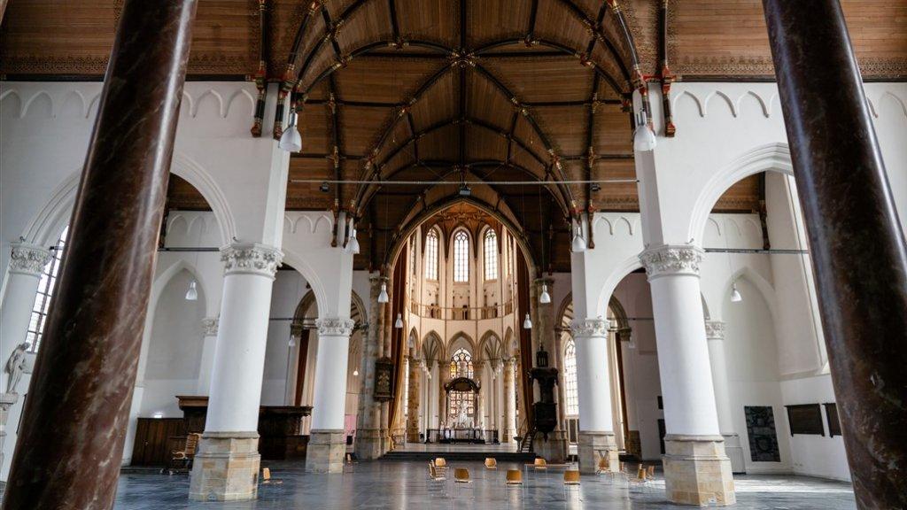 De Troonrede is verplaatst naar de Grote Kerk.