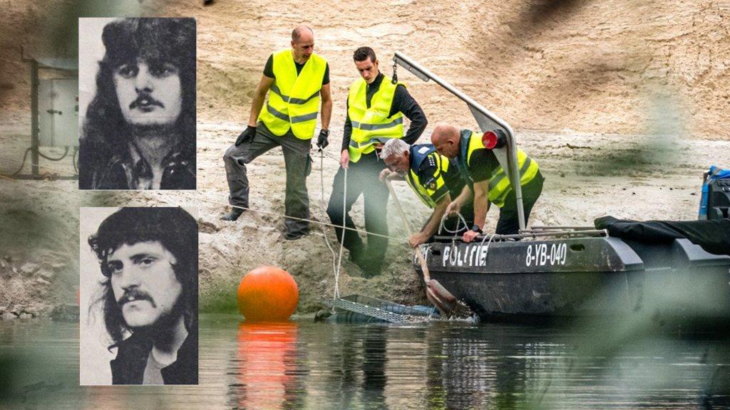 Hans Martens (boven) en Piet Hölskens verdwenen 46 jaar geleden. Nu wordt opnieuw naar hun lichamen gezocht.