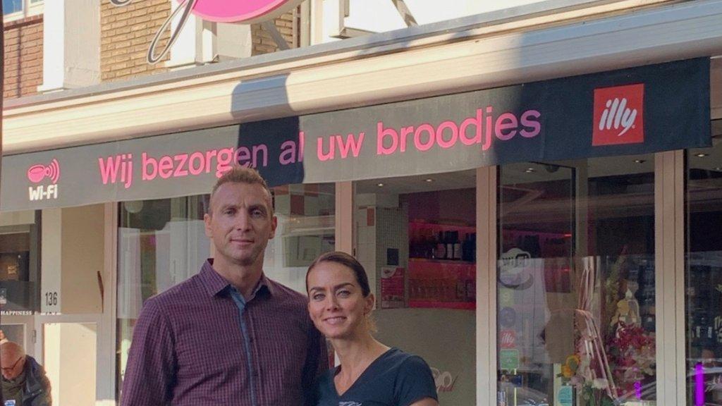 Horeca-ondernemers Peter Hofland en Nicole Kroon