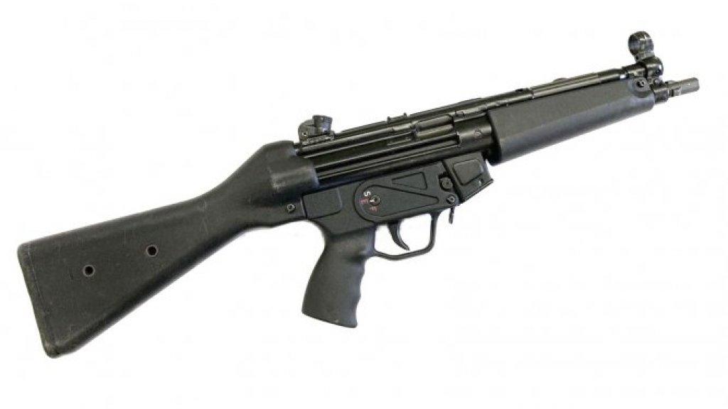 Een van de wapens die te koop zijn.