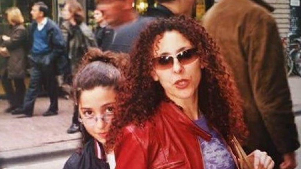 Rihana met haar moeder.