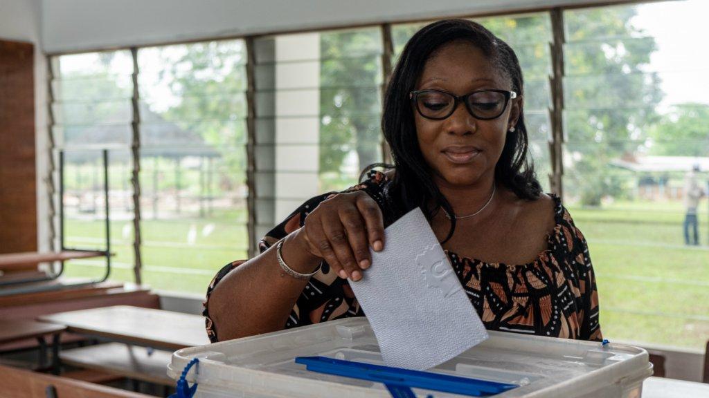 Ferriman Traoré is trots dat ze heeft gestemd.