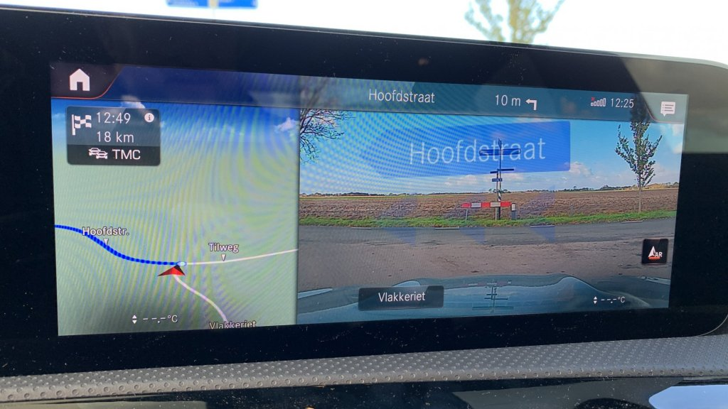 Augmented reality navigatie