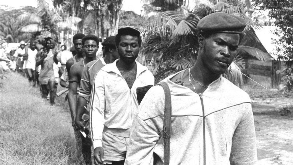 Brunswijk en het Jungle Commando in 1986.