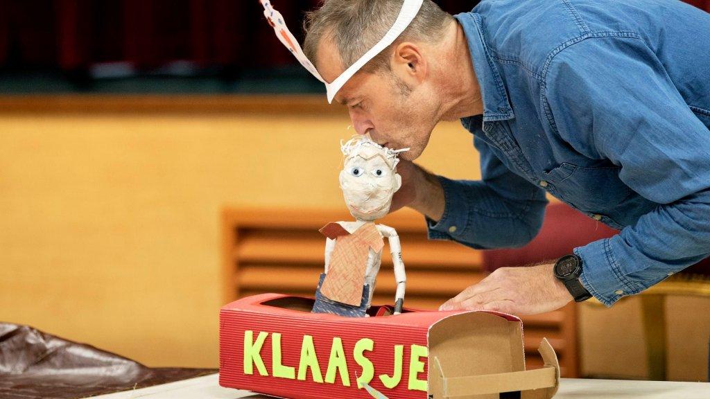 Dit jaar vertelt het theatergezelschap het verhaal van Klaasje.