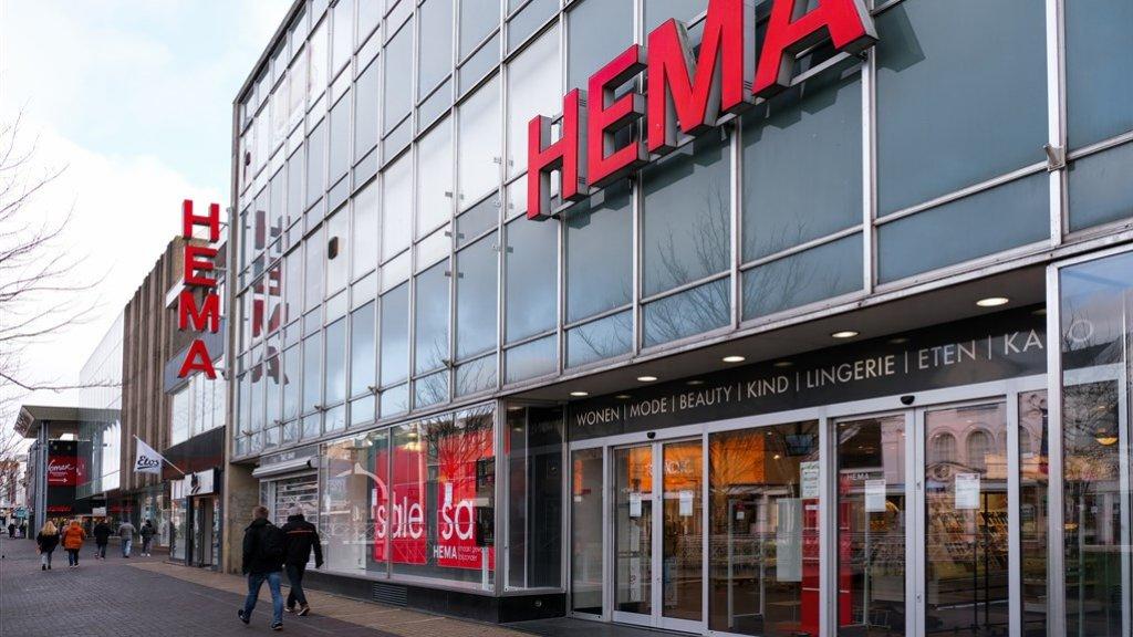 Een gesloten HEMA-filiaal in Zaandam.