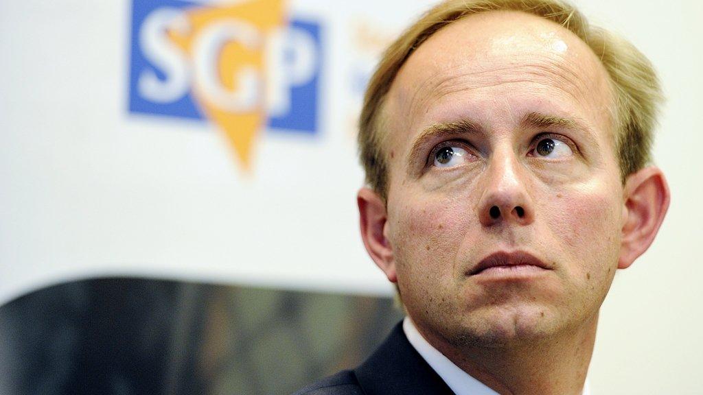 SGP-voorman Kees van der Staaij is één van de ondertekenaars.