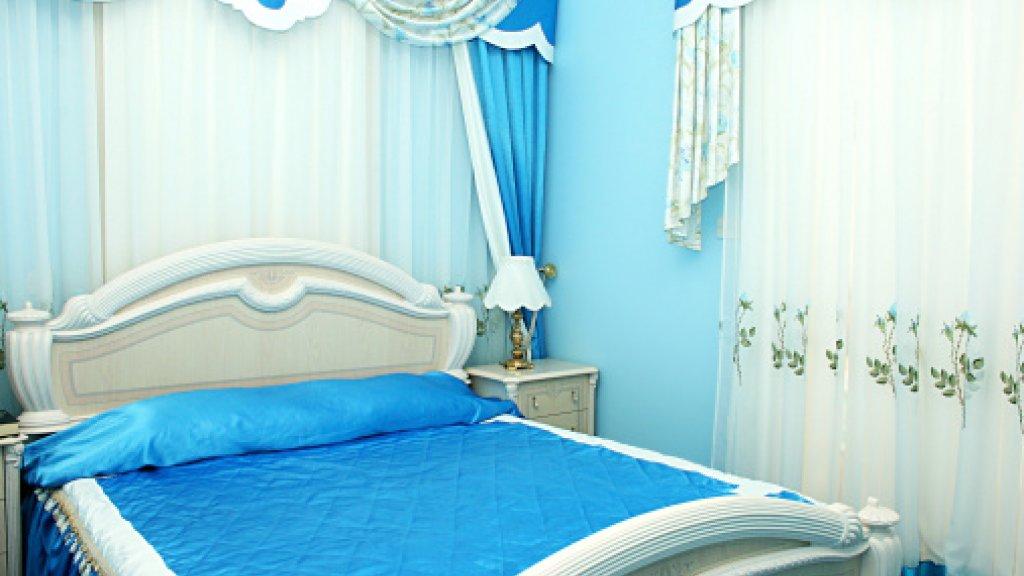 slaapkamer blauw lekker slapen