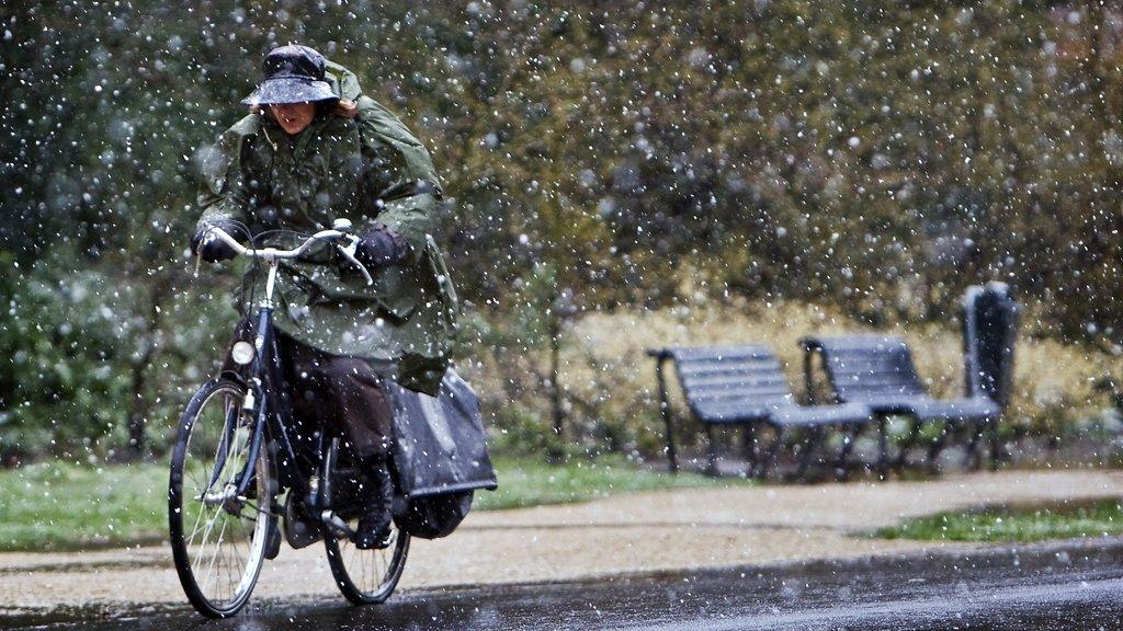 Na de vorst komt de sneeuw: 'Morgen wordt het wit'