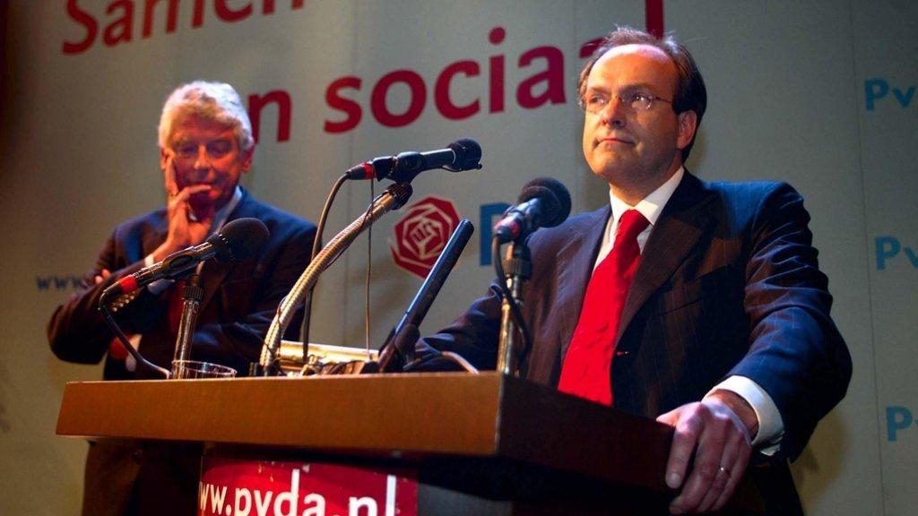 Wim Kok en Ad Melkert