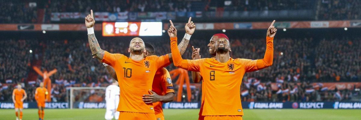 Nederland wint eerste EK-kwalificatieduel tegen Wit-Rusland