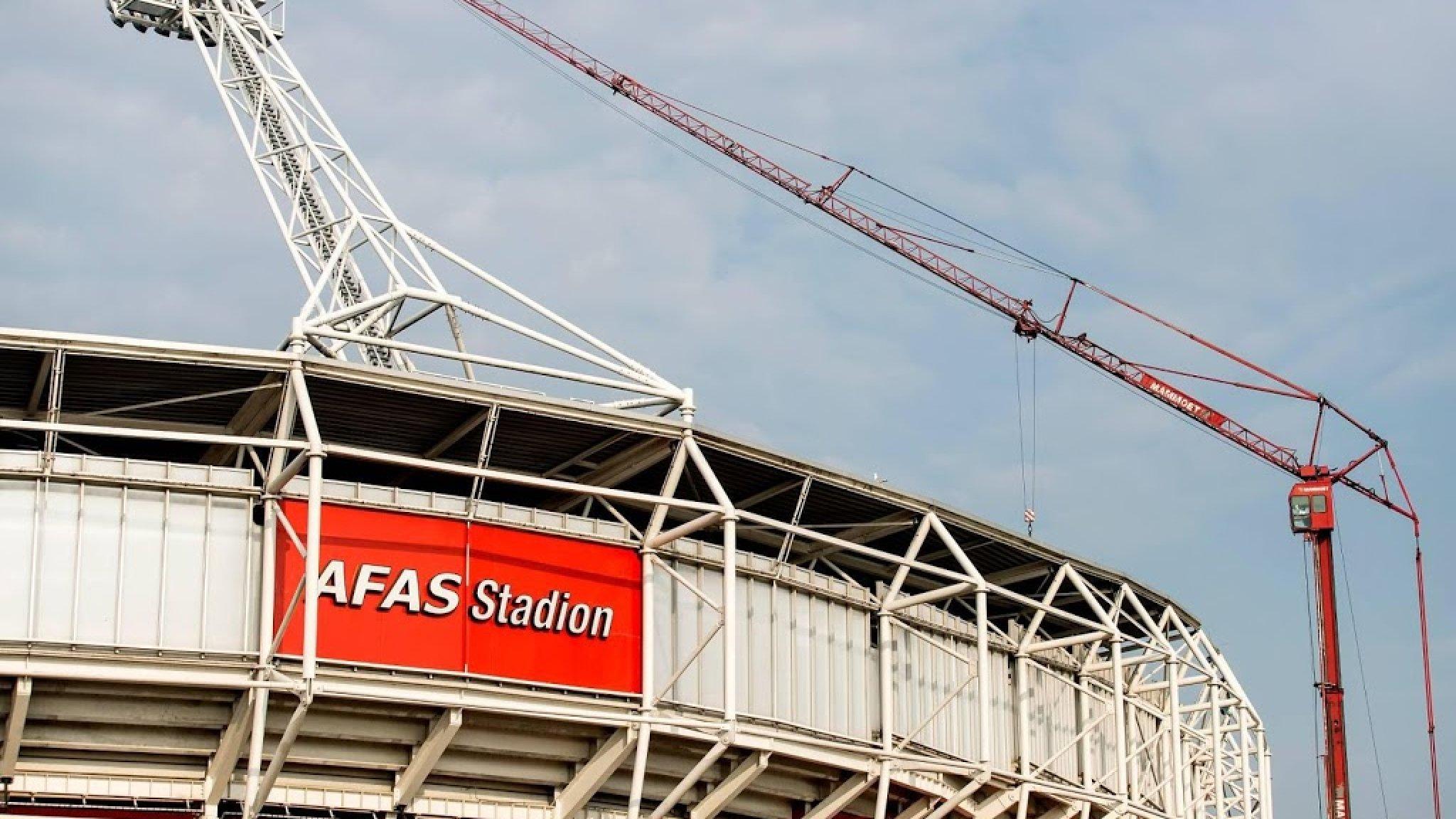 Dakconstructie AZ schoot tekort, club kiest voor nieuw dak