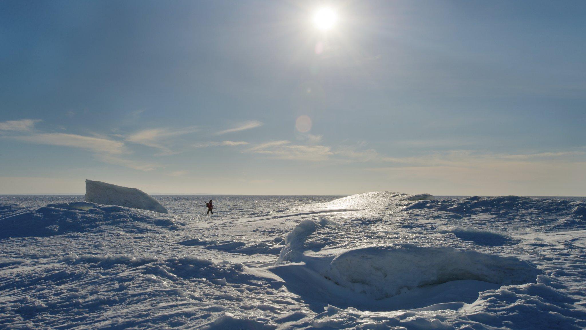 'VR-wandeling op Antarctica vermindert brandende pijn'