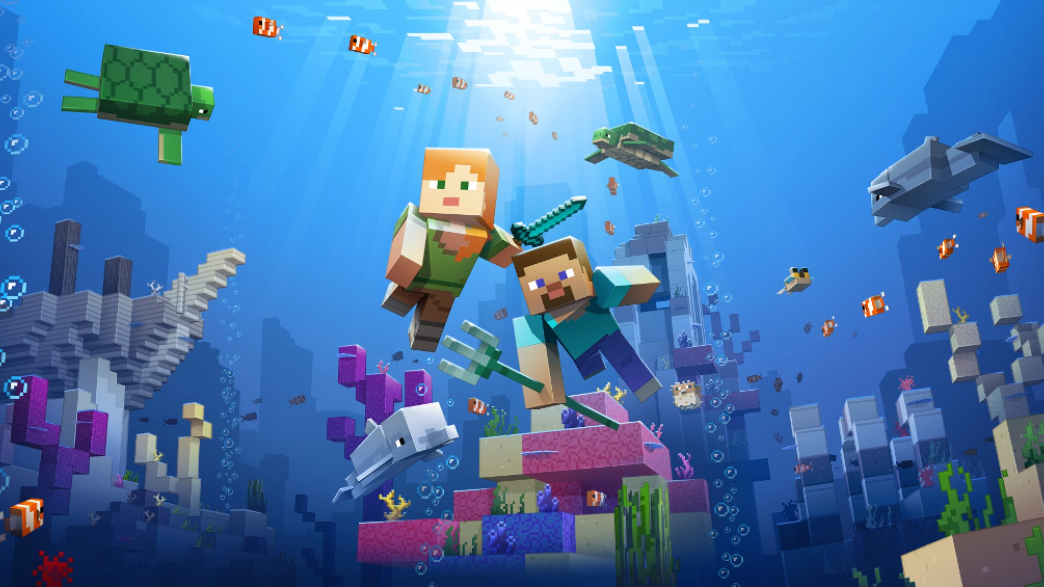 Zo Helpt Minecraft Mee Met Redden Van Koraal Bright
