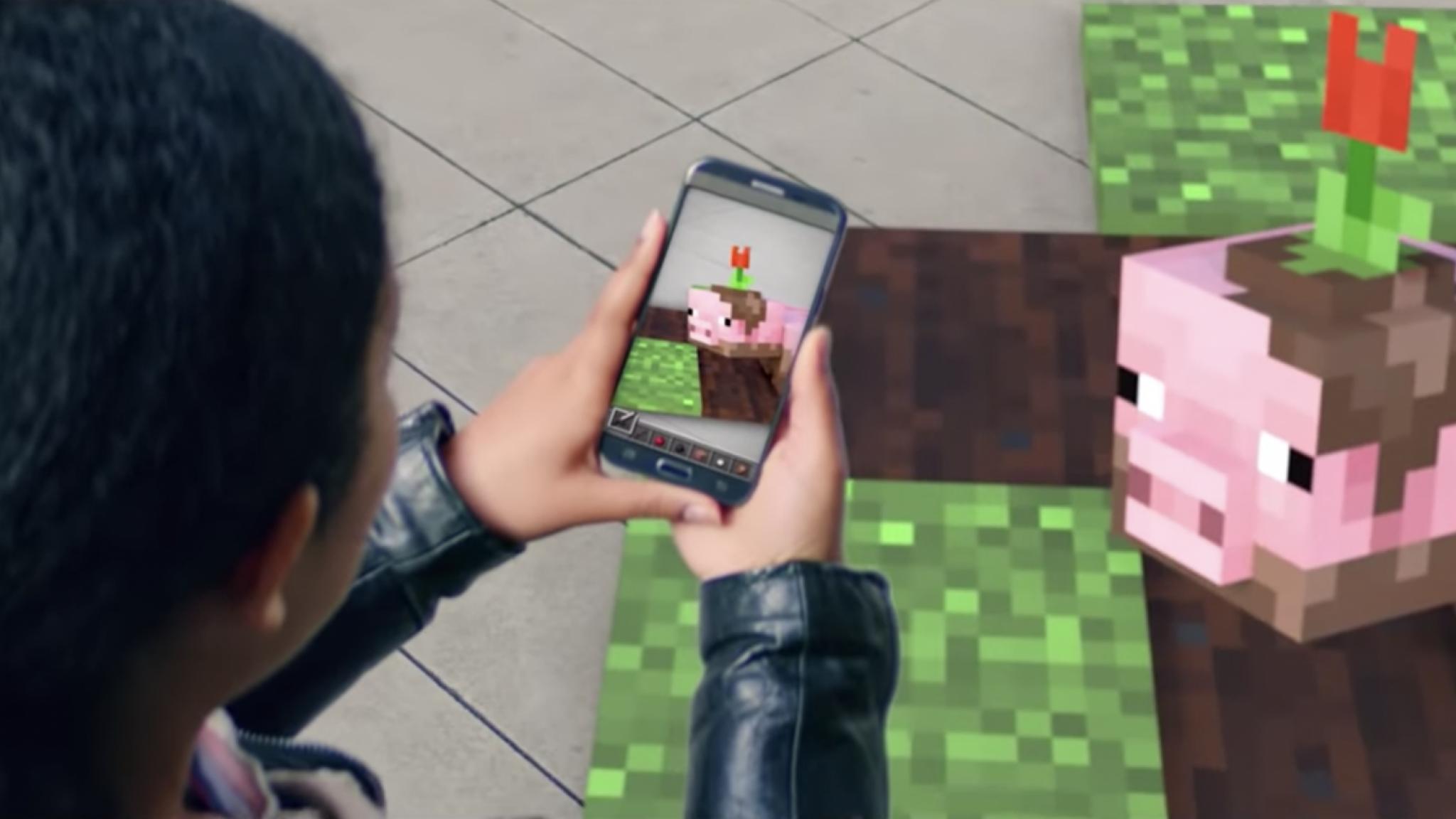 Zo speel je nu al Minecraft Earth op je smartphone - Bright.nl