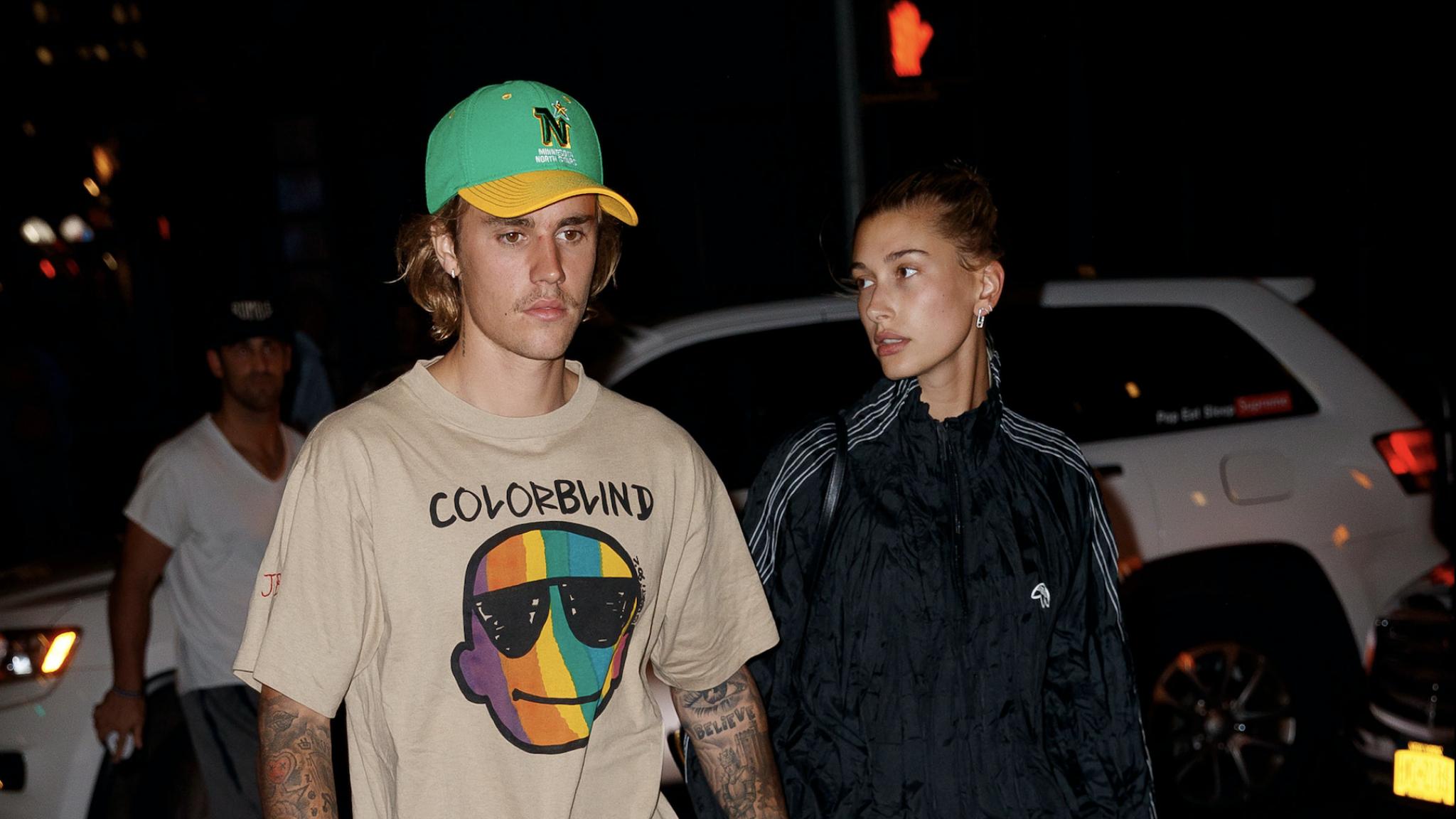 Justin Bieber neemt het op tegen haters voor echtgenote Hailey