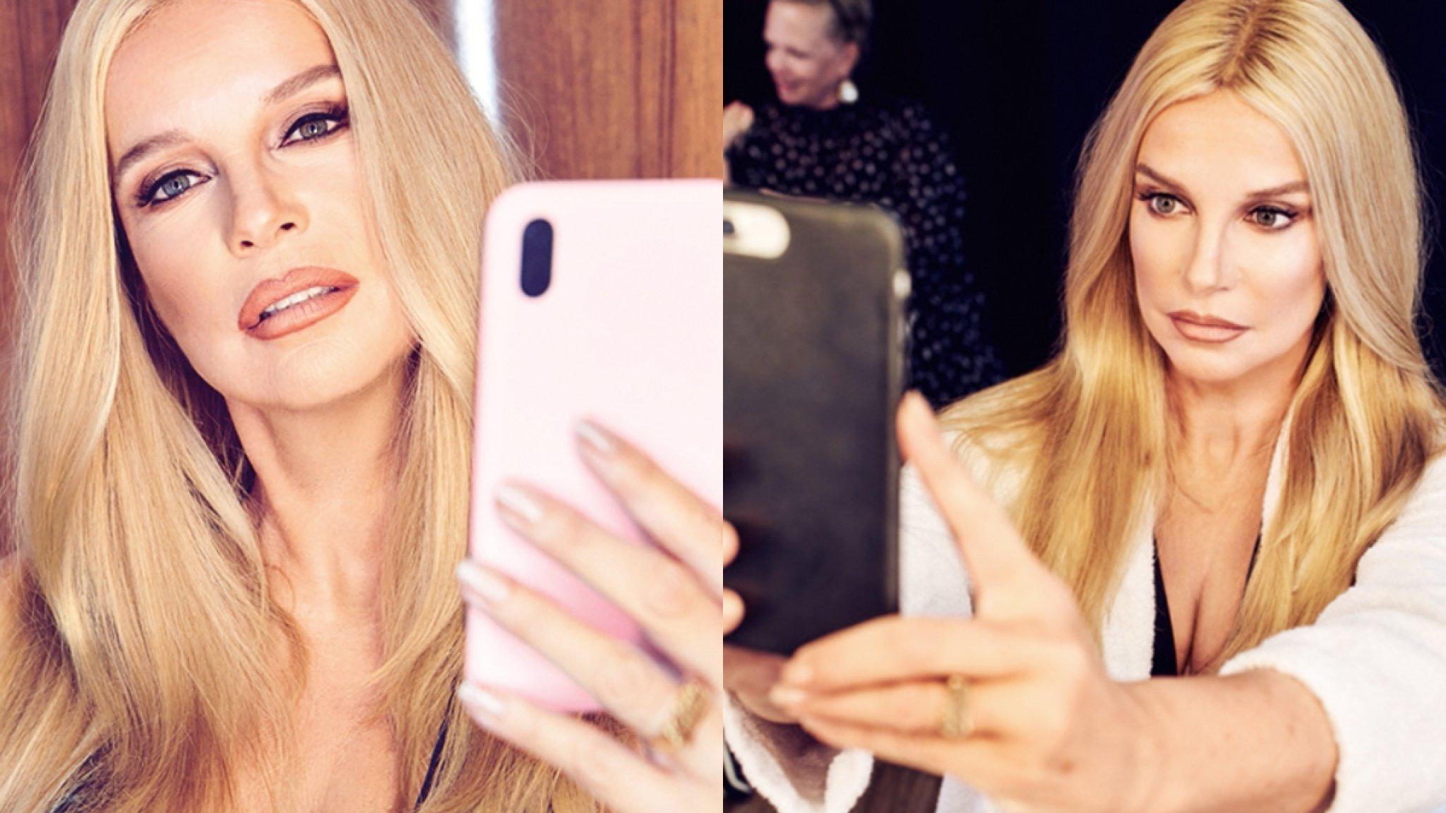 Linda de Mol omgetoverd tot selfiequeen Kim Kardashian - RTL Nieuws
