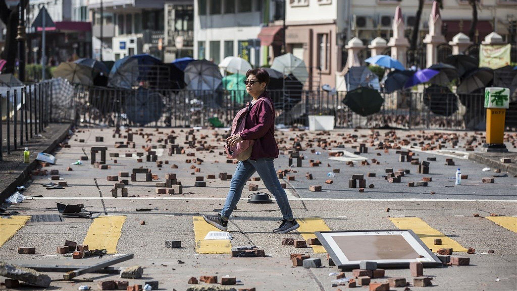 Hongkong stevent af op eerste recessie sinds kredietcrisis - RTL Z