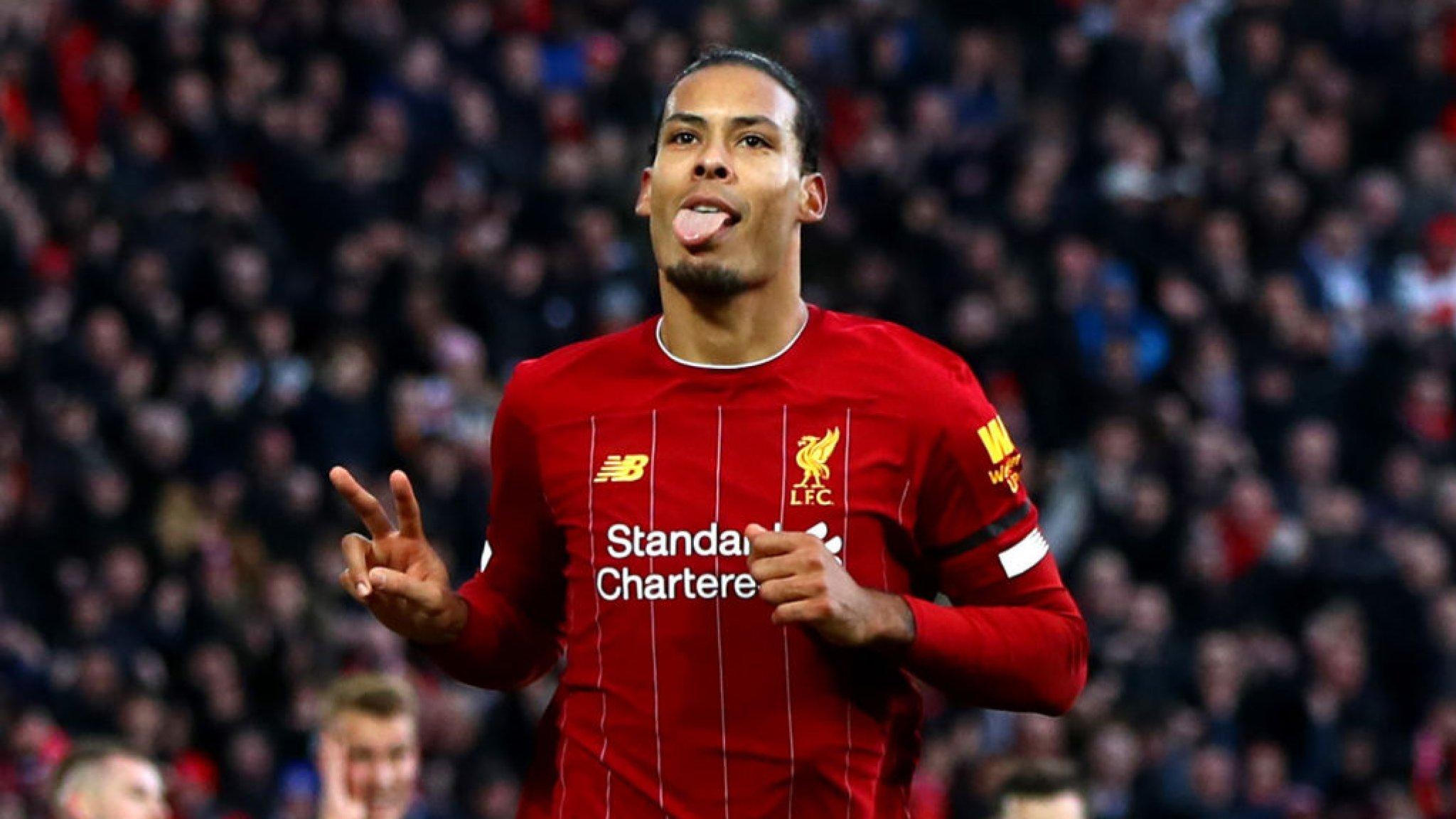 Liverpool Van Dijk