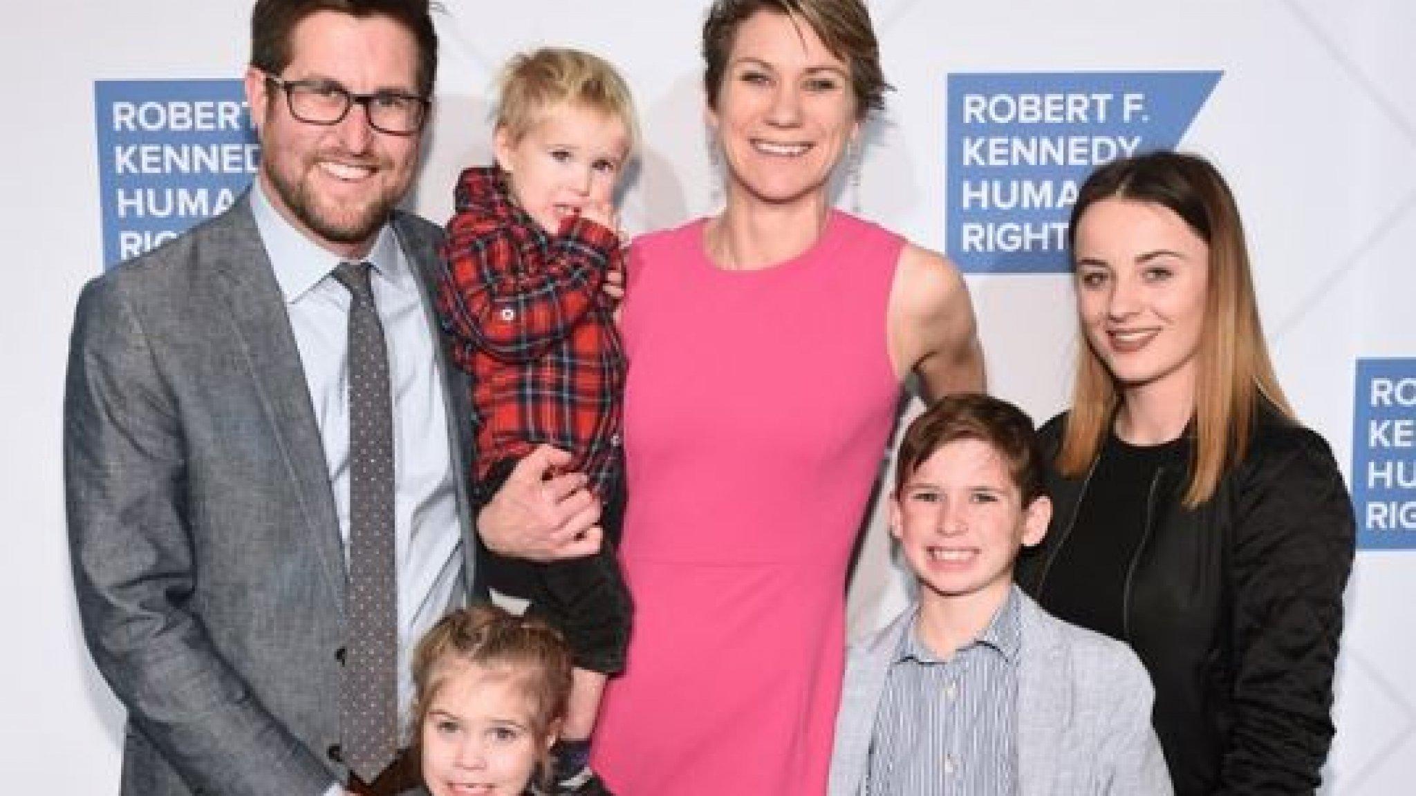 Rampspoed Kennedy's houdt aan: Maeve en zoon Gideon (8) dood na kano-ongeluk