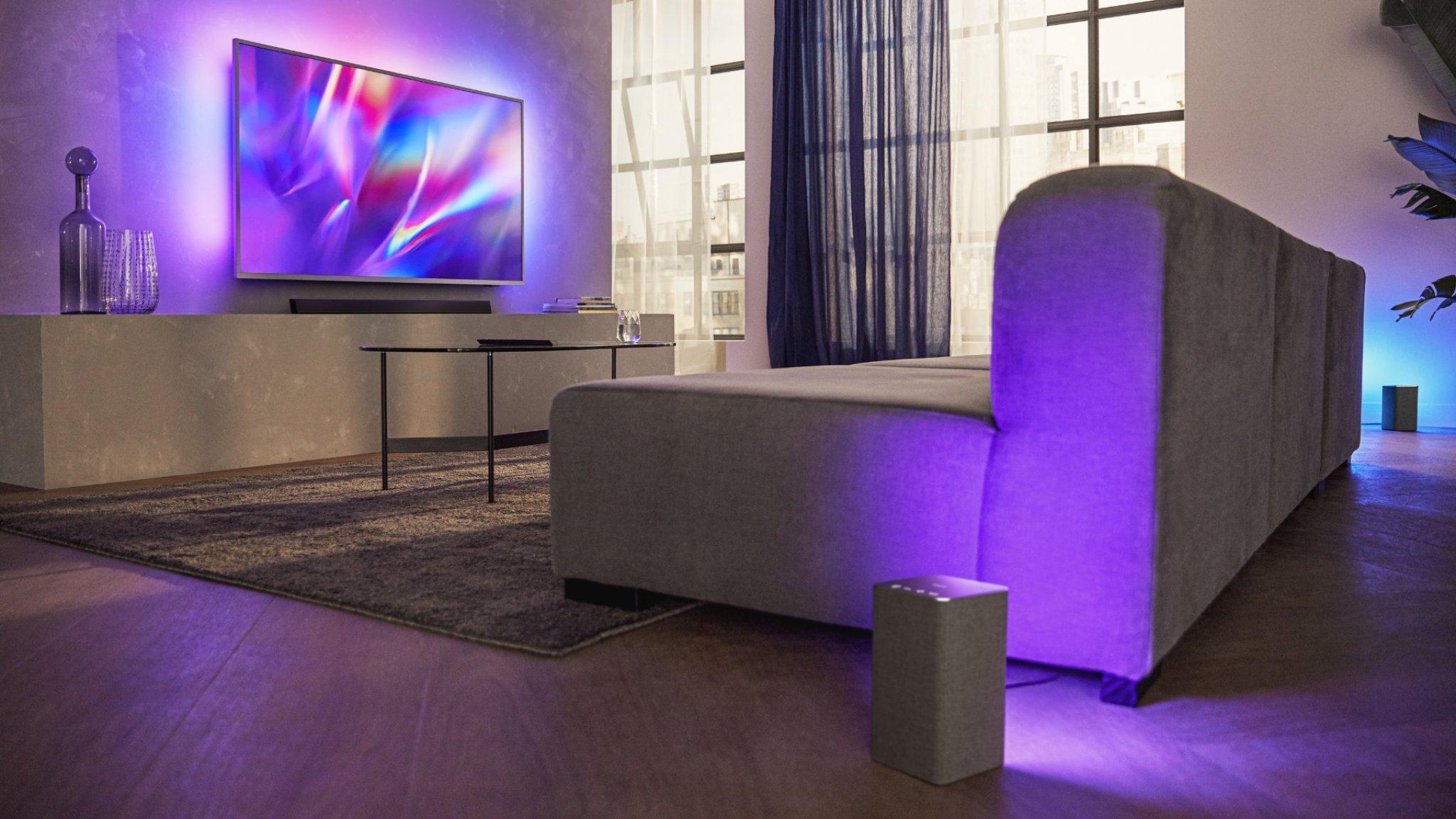 Philips Onthult Wifi Speakers Met Ambilight En Nieuwe Soundbars Rtl Nieuws