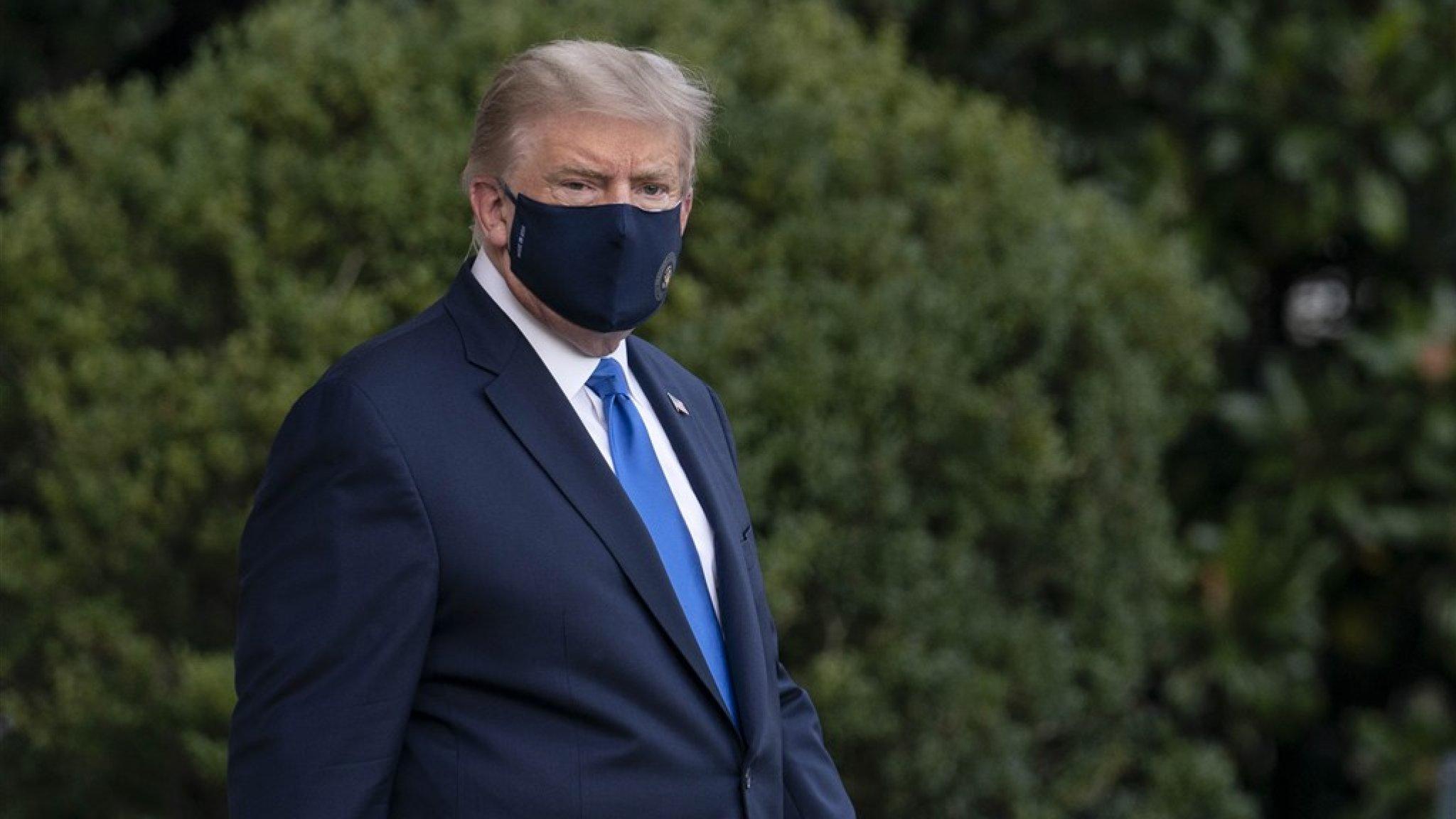 'Coronabesmetting Donald Trump was veel ernstiger dan voorgespiegeld' - RTL Nieuws