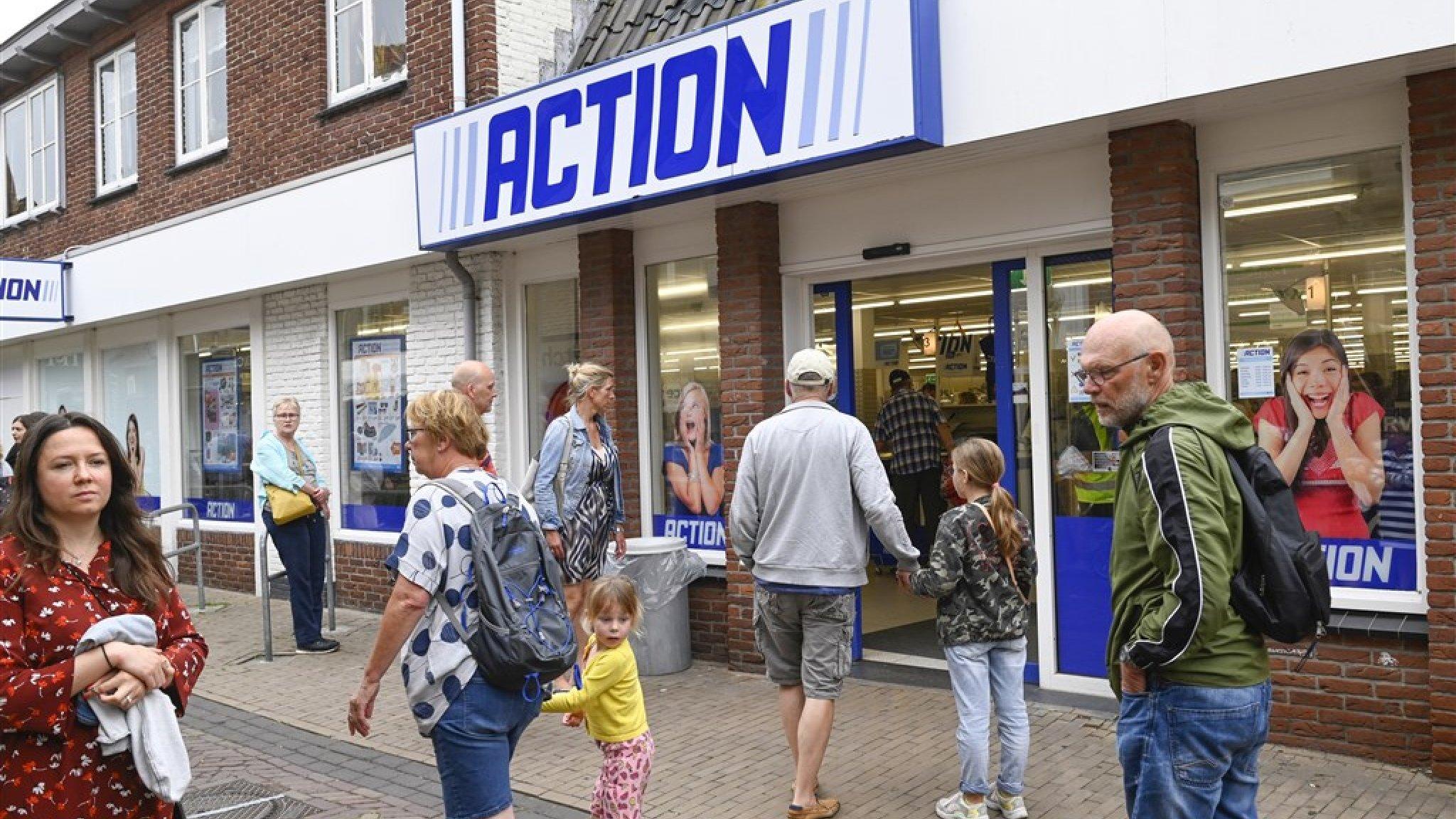 Tien minuten winkelen bij Action kan vanaf 3 maart - RTL Nieuws