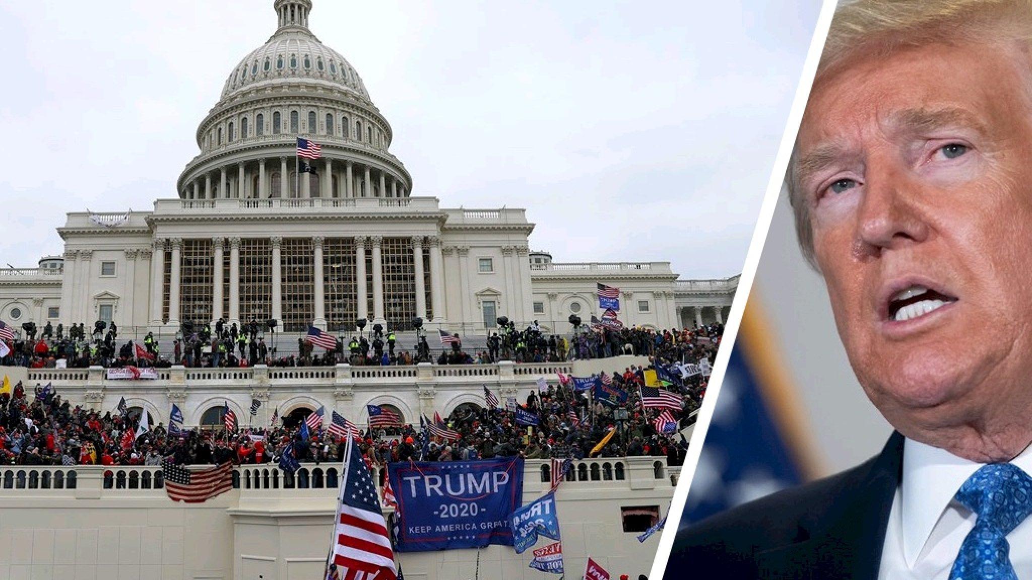 Trump weigert onder ede te getuigen over opstand Capitool - RTL Nieuws