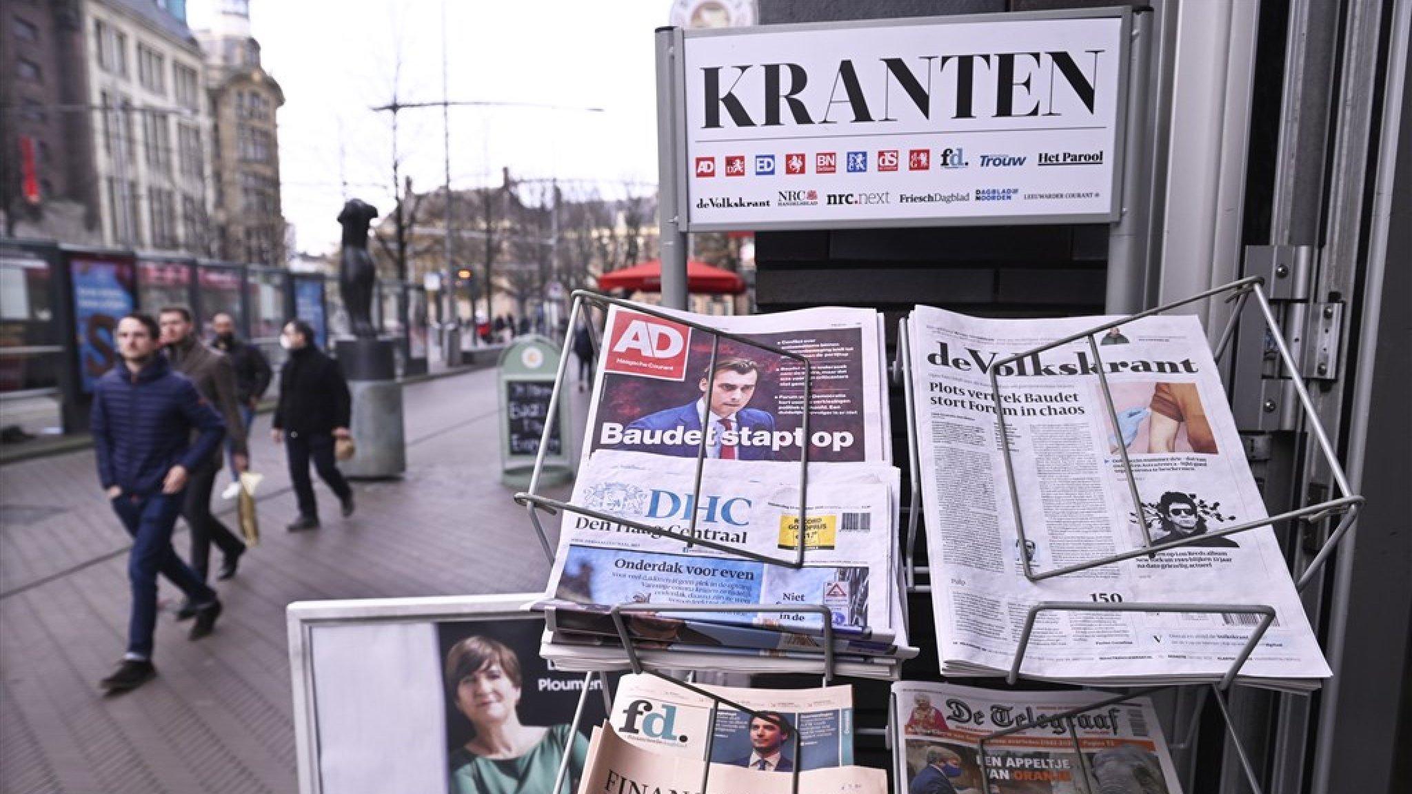 Betalen voor nieuws: techreuzen ook in EU verder onder druk - RTL Nieuws