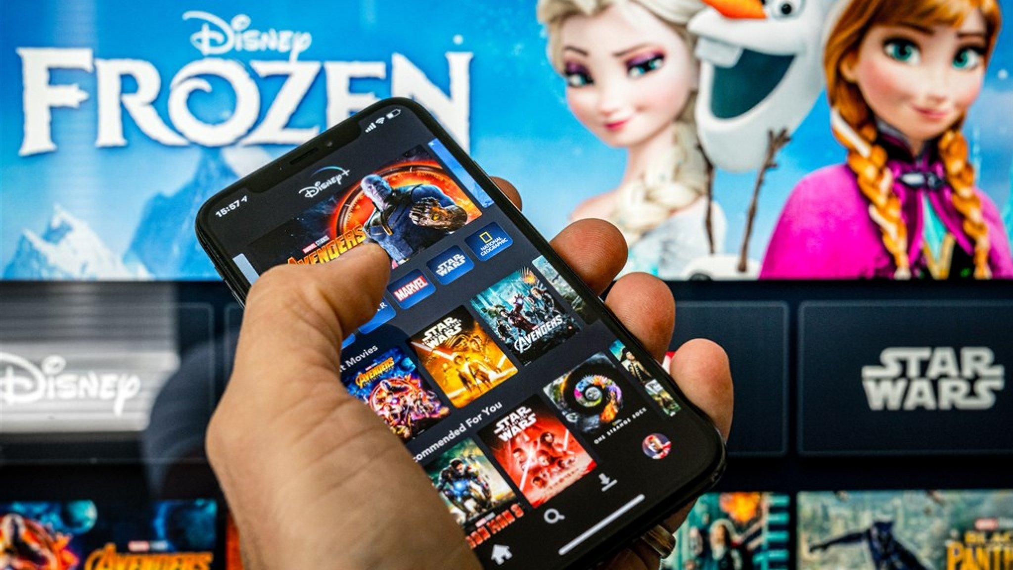 Disney+ maakt reuzenstap en zit Netflix op de hielen - RTL Nieuws