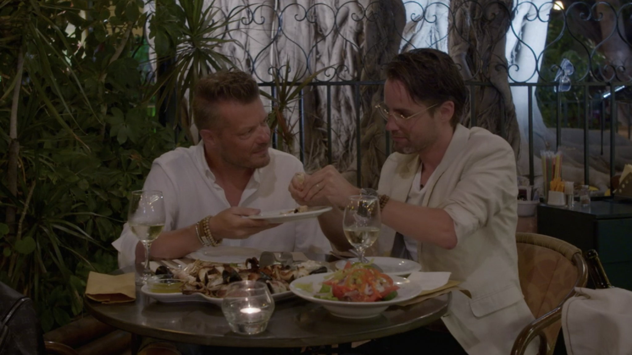 Rein en Danny hebben ongemakkelijkste etentje ooit in MAFS - RTL Nieuws