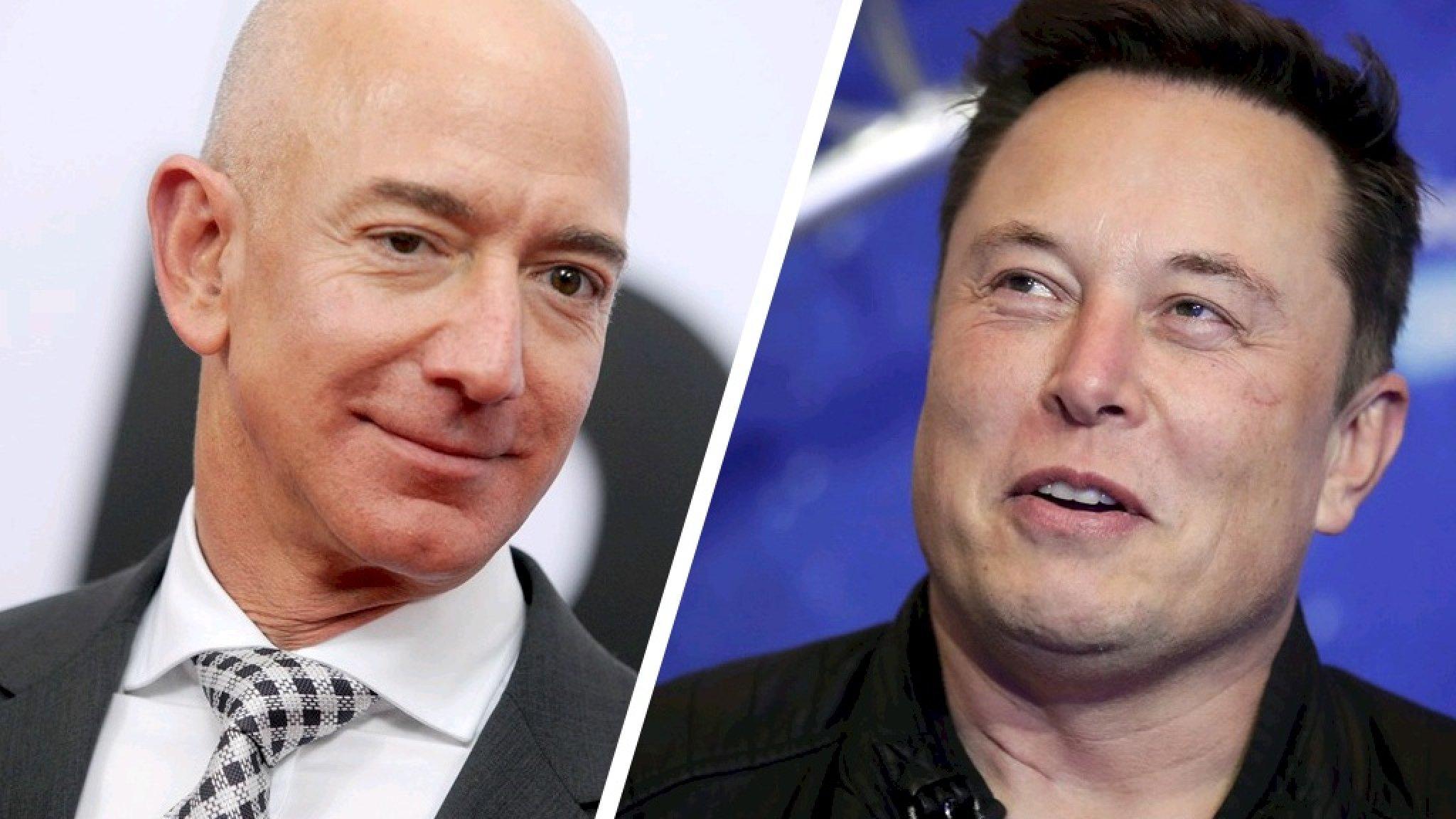 Jeff Bezos weer rijkste man op aarde, onttroont Elon Musk - RTL Nieuws