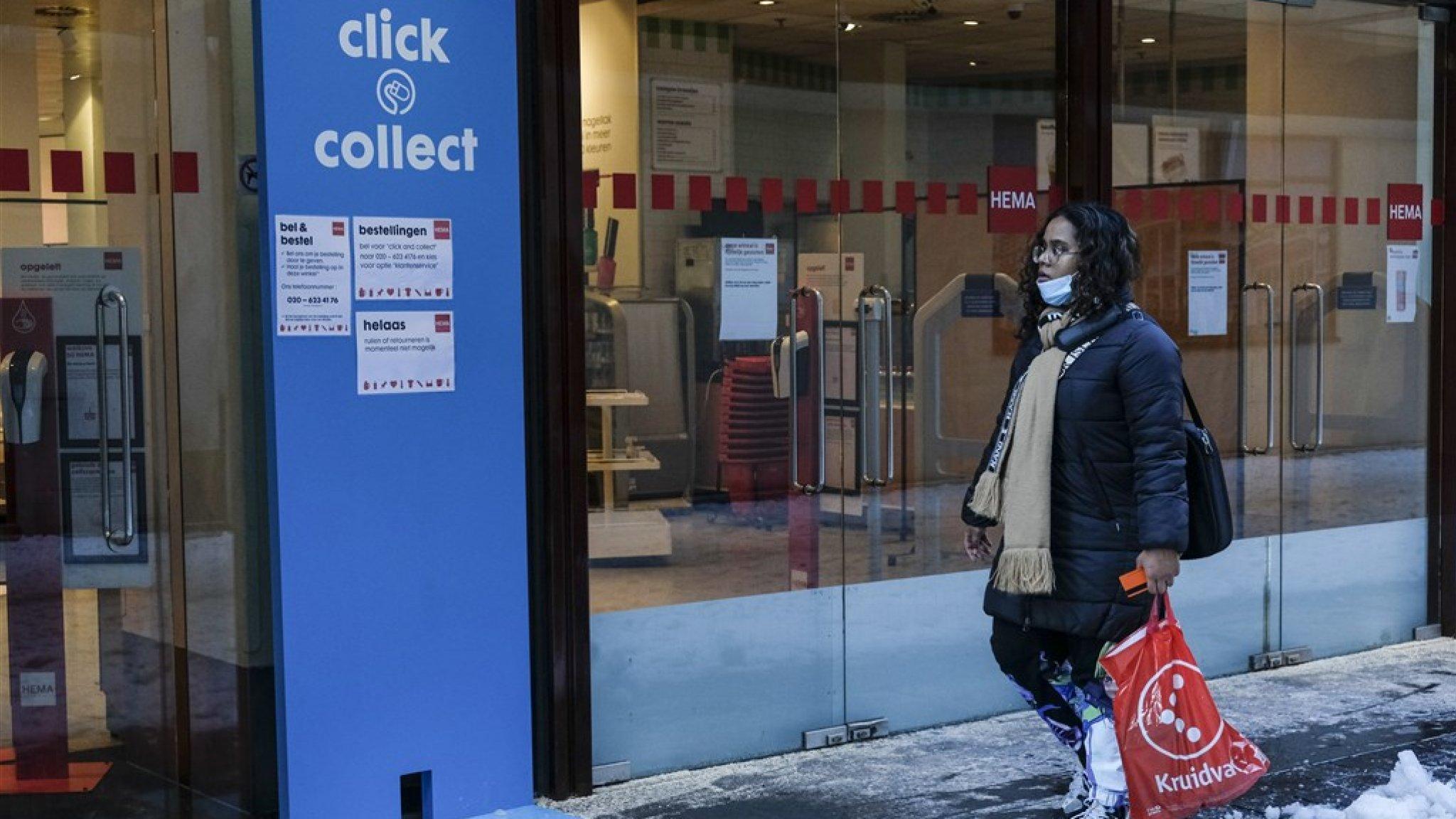 Lockdown hakt er ongenadig hard in bij winkels die geen eten verkopen - RTL Nieuws