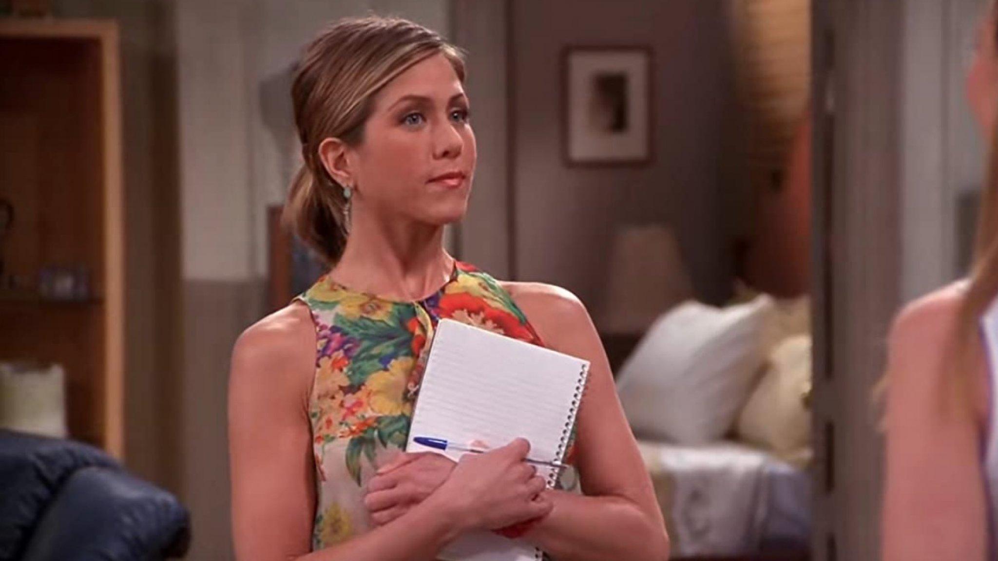 Tic Jennifer Aniston in Friends gaat jaren later viral - RTL Nieuws