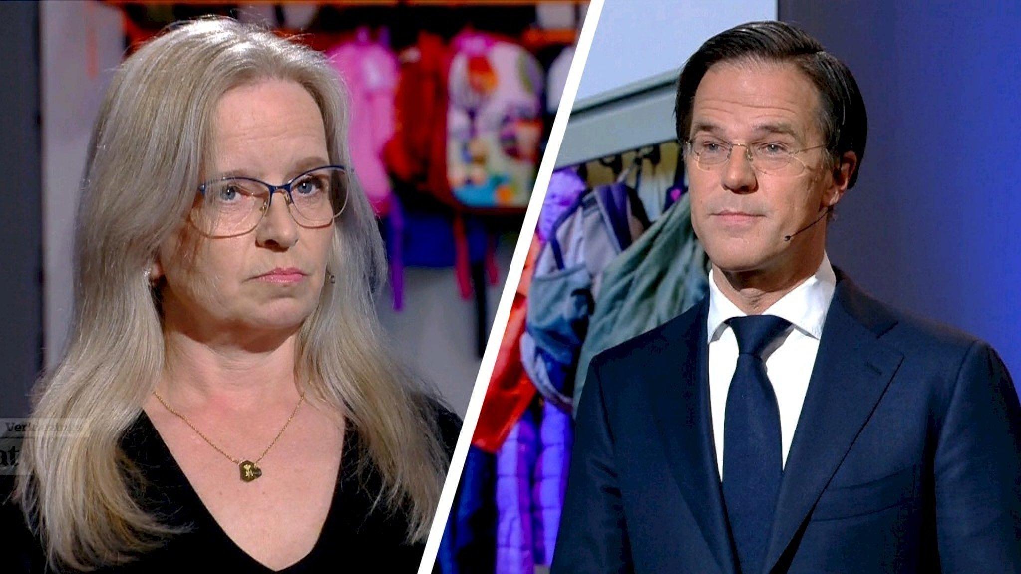 Kristie over haar 'ik stop u even'-uitspraak tegen Rutte: 'Het floepte eruit' - RTL Nieuws